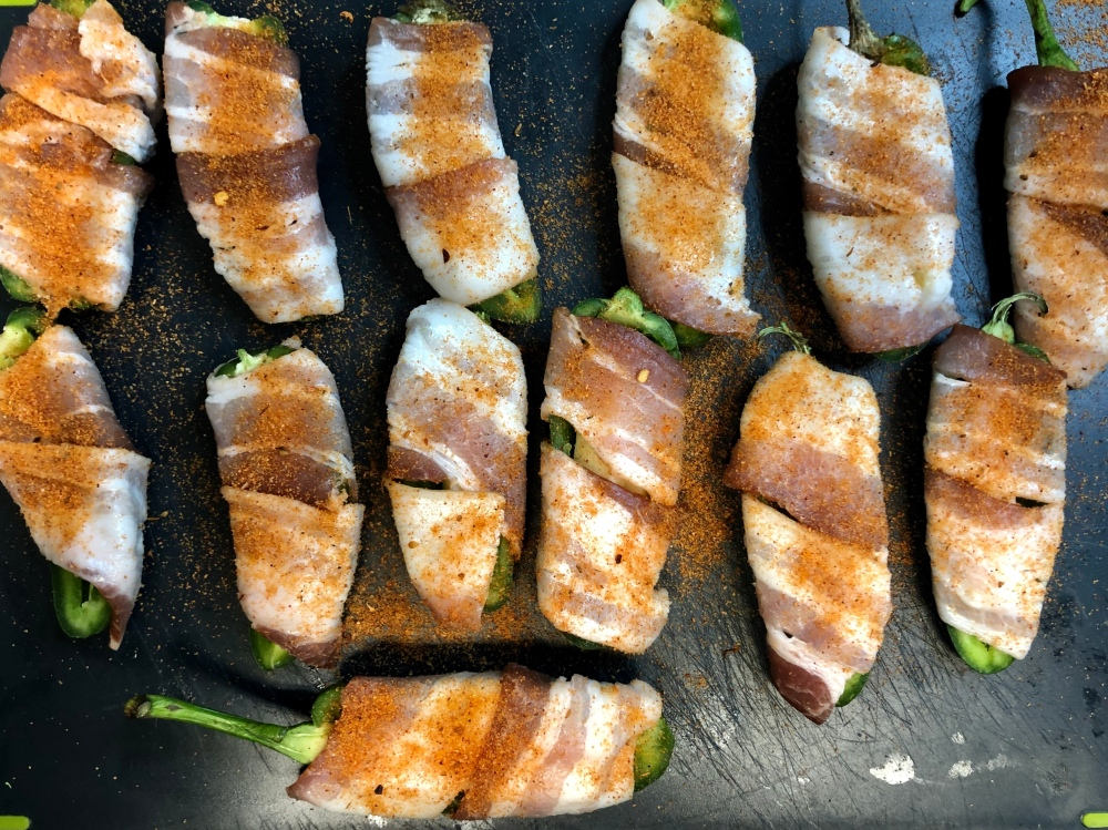 Grilled Bacon-Wrapped Jalapeño Poppers