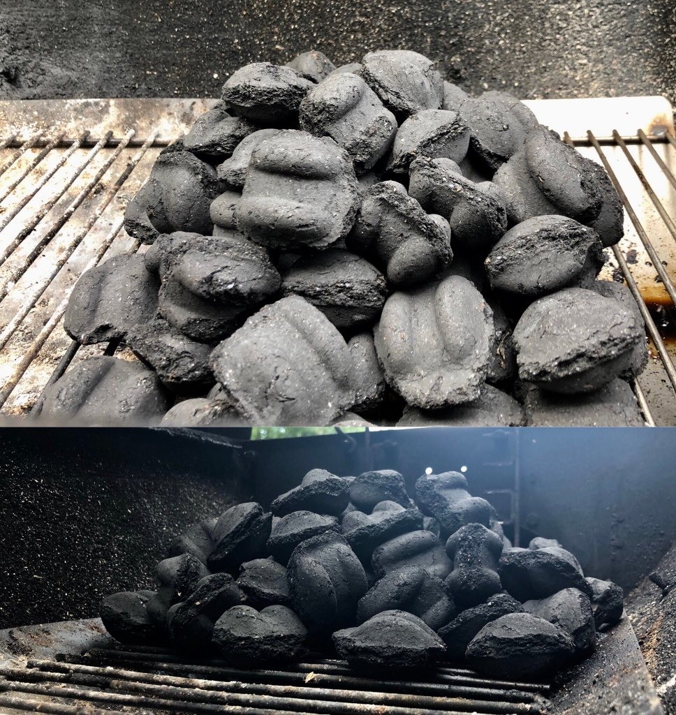 How to build a charcoal fire