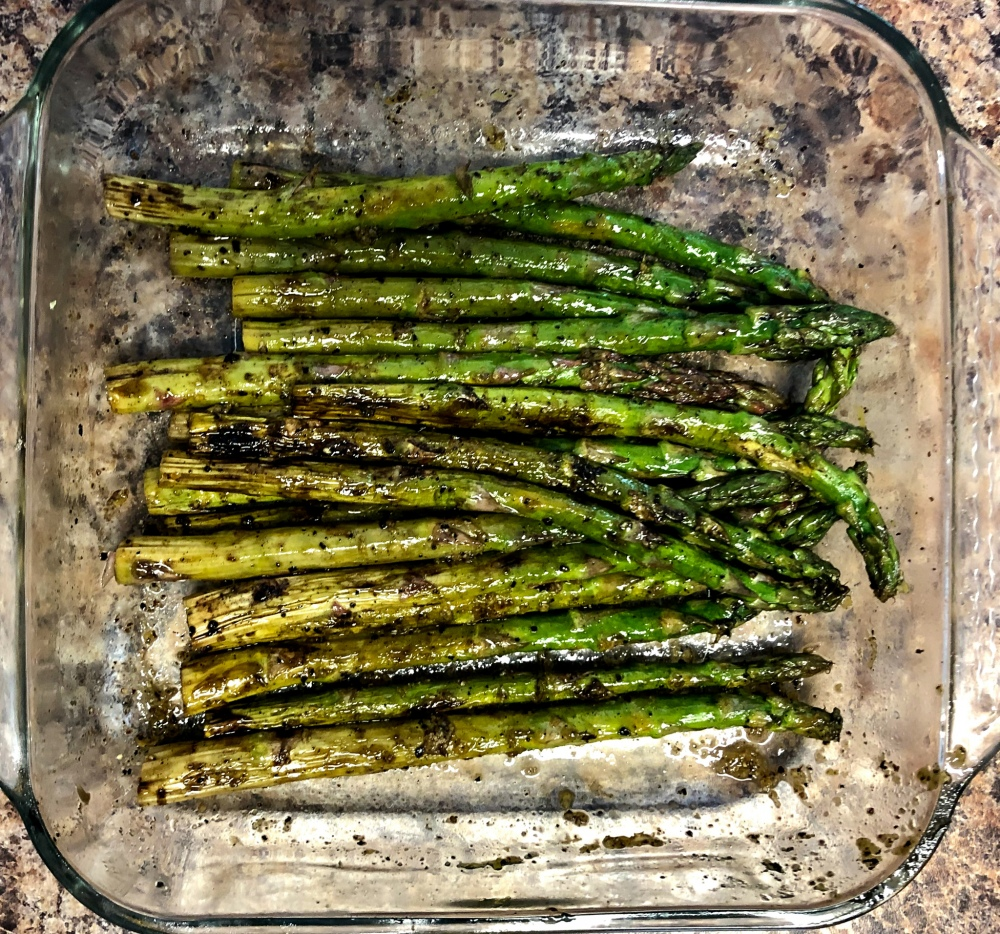 Grilled Lemon Pepper Asparagus