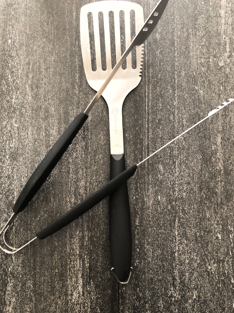 Extended Length Tongs/Spatula