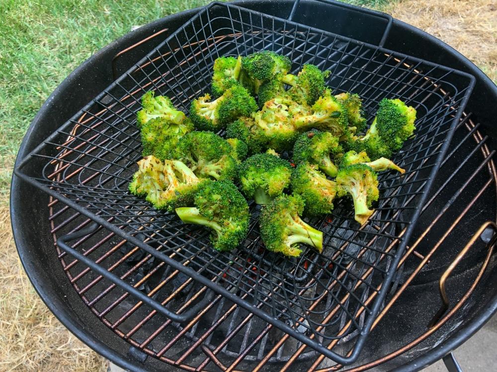 Smoke of Solomon Grilled Broccoli